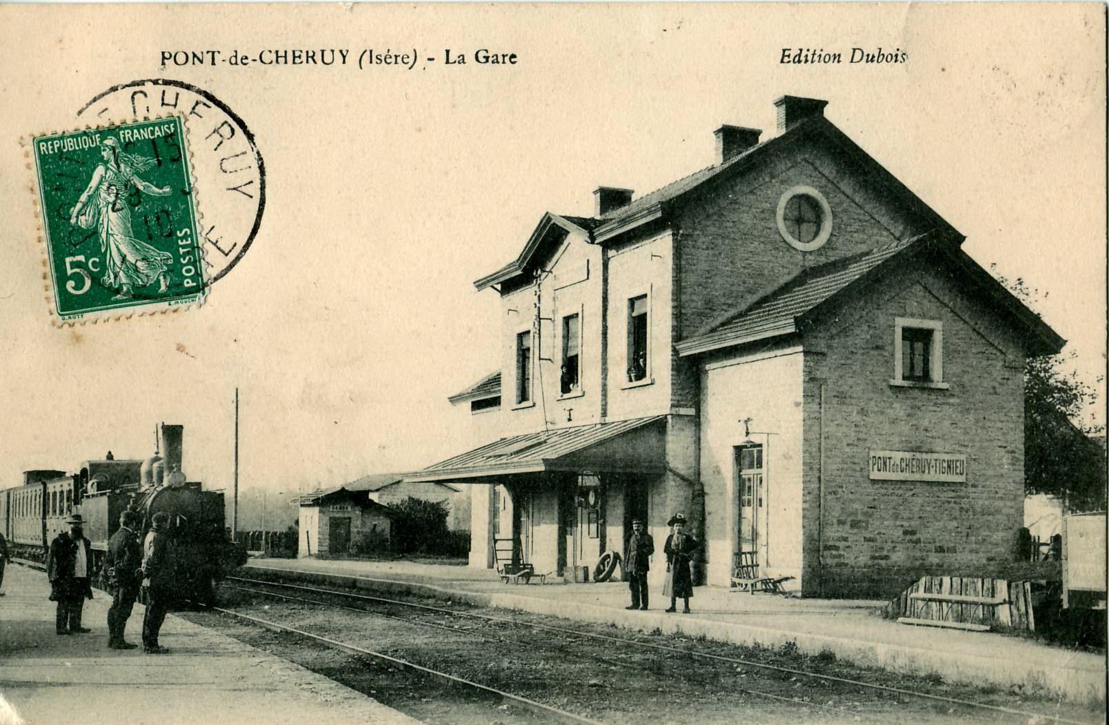 3_Dubois_-_PONT_DE_CHERUY_-_La_Gare_193_10